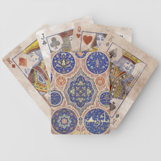 Distressed Aarabic Rosettes Bicycle Playing Cards