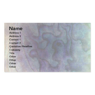 Distressed Abalone Business Card