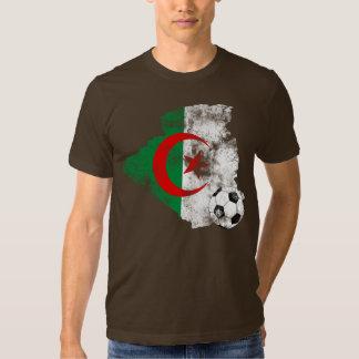 Distressed Algeria Soccer T Shirts