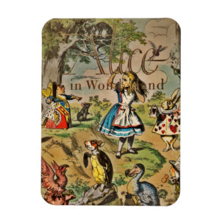Distressed Alice and Friends Cover Magnet