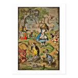 Distressed Alice and Friends Cover Postcard