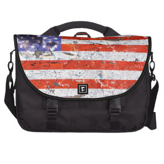 Distressed American Flag 01 Bag For Laptop