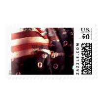 Distressed American Flag $0.47 Postage Stamp