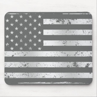 Distressed American Flag II Mousepad