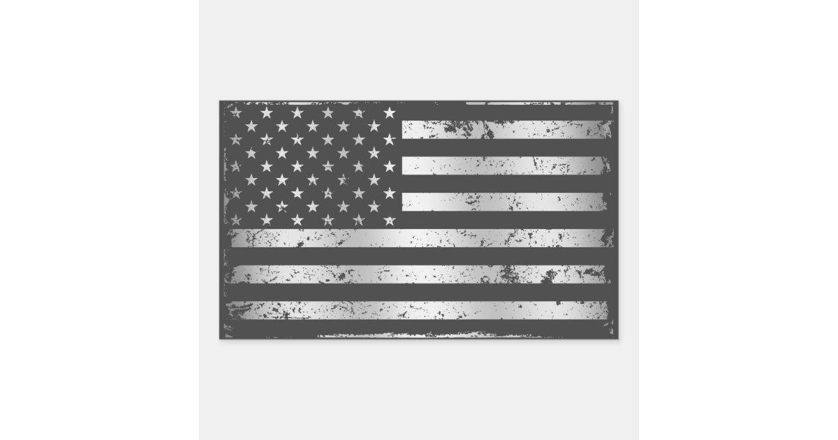 Distressed American Flag Ii Sticker Zazzle