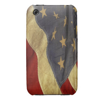 Distressed American Flag iPhone 3 Cover
