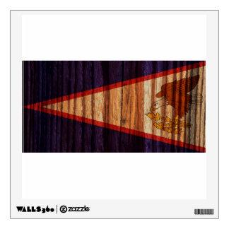Distressed American Samoa Flag Wall Graphics