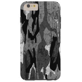 Distressed Arctic Camo Tough iPhone 6 Plus Case