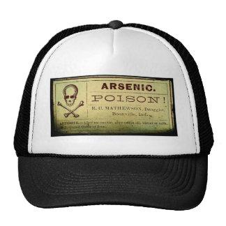 Distressed Arsenic Label Trucker Hat