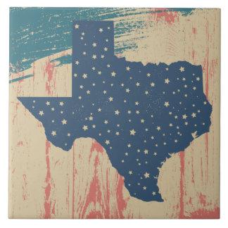 Distressed Art Texas Tile Trivet