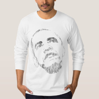 Distressed Barack Obama Tshirt