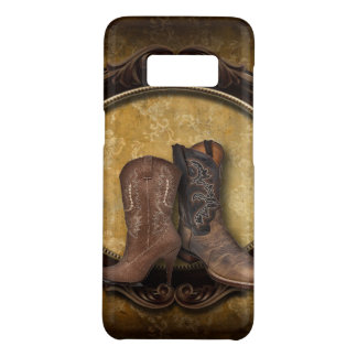 Distressed barn country Western Cowboy Boot Case-Mate Samsung Galaxy S8 Case