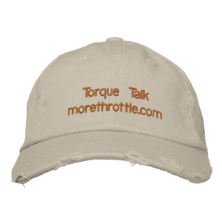 Distressed Baseball Cap in oatmeal with branding