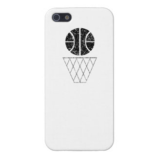Distressed Basketball And Hoop iPhone 5 Case