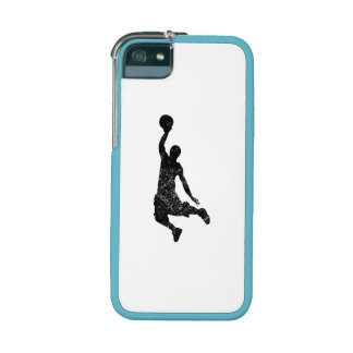 Distressed Basketball Dunk Silhouette iPhone 5/5S Case