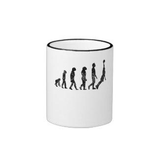 Distressed Basketball Evolution Mug
