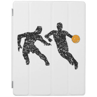 Distressed Basketball Players iPad Cover