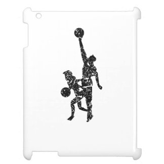 Distressed Basketball Players iPad Covers