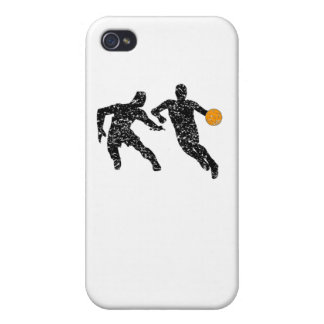 Distressed Basketball Players iPhone 4/4S Cases