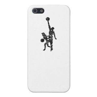 Distressed Basketball Players Cover For iPhone 5