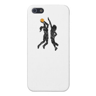 Distressed Basketball Players iPhone 5 Cases