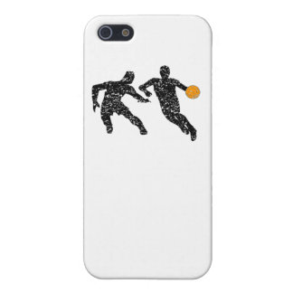 Distressed Basketball Players iPhone 5 Cover