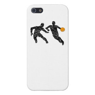 Distressed Basketball Players Case For iPhone 5