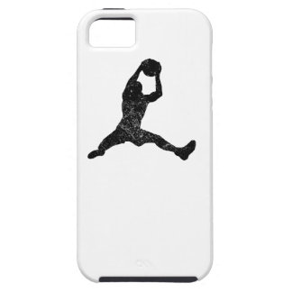 Distressed Basketball Rebound Silhouette iPhone 5 Covers