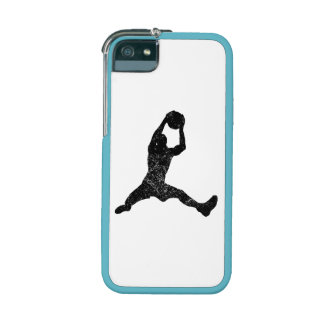 Distressed Basketball Rebound Silhouette Case For iPhone 5