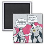Distressed Batman And Robin Handshake Fridge Magnets