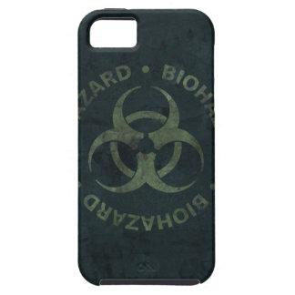 Distressed Biohazard iPhone Case