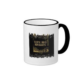 Distressed Border - 2-sided Ringer... - Customized Ringer Coffee Mug