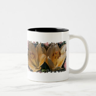 Distressed Border - 2-sided Ringer... - Customized Two-Tone Coffee Mug