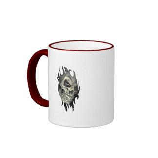 Distressed Border - 2-sided Ringer Mug