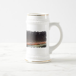 Distressed Border Stein Coffee Mug