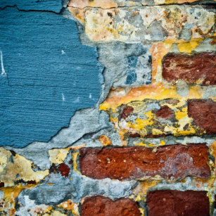 Brick Wall Texture Decorative Ceramic Tiles Zazzle - Distressed brick wall tiles