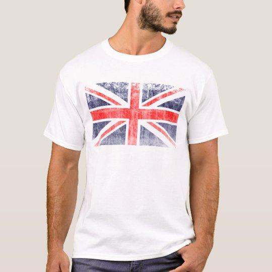 DISTRESSED BRITISH FLAG T-Shirt