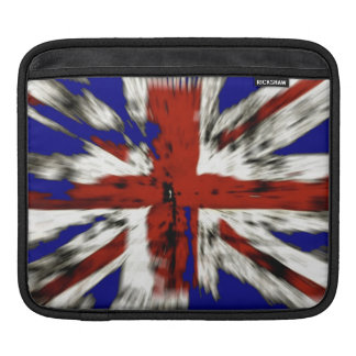 Distressed British Union Jack iPad Sleeve