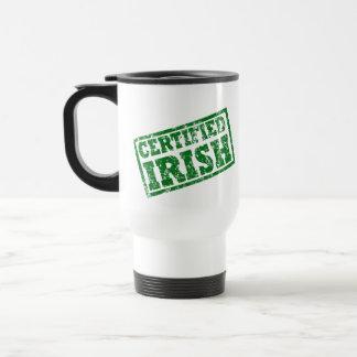 Distressed Certified Irish Mug
