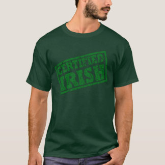 Distressed Certified Irish Women's T-Shirt