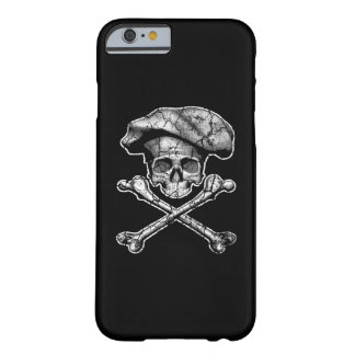 Distressed Chef Skull Barely There iPhone 6 Case