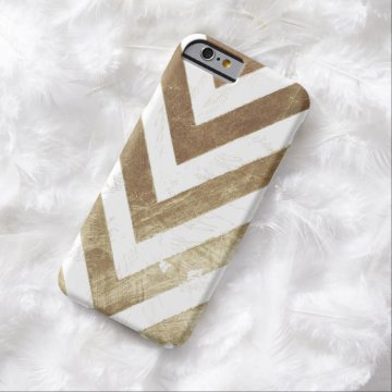 Distressed Chevron Barely There iPhone 6 Case at Zazzle