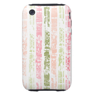 Distressed Clarinet iPhone 3 Tough Cover