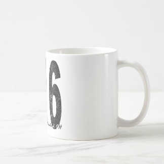 Distressed Cleveland 216 Coffee Mug