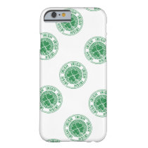 distressed clover irish stamp seal barely there iPhone 6 case