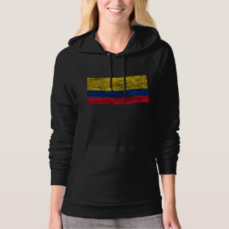Distressed Colombia Flag Hoodie