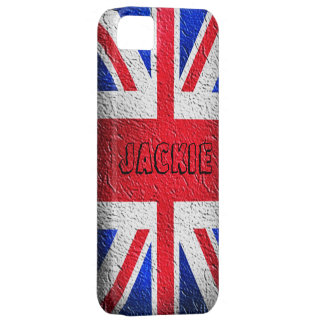 Distressed Concrete Union Jack iPhone 5 Cases