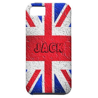 Distressed Concrete Union Jack iPhone SE/5/5s Case