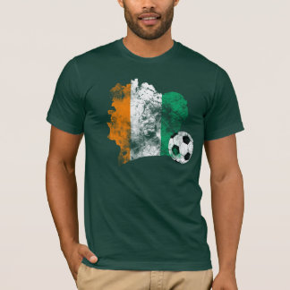 Distressed Côte d'Ivoire Soccer T-Shirt