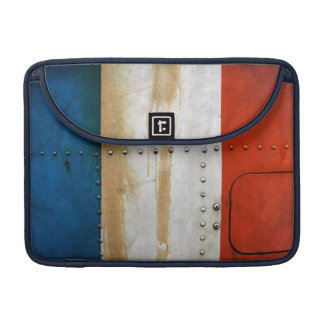 Distressed Country Flags | France MacBook Pro Sleeve
